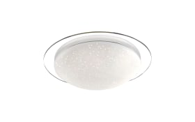LED-Deckenleuchte Skyler mit Starlight-Effect, 45 cm