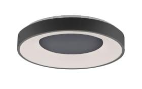 LED-Deckenleuchte CCT Anika in anthrazit, 50 cm