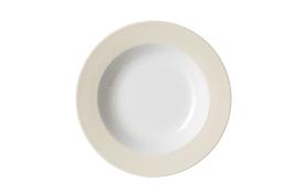 Suppenteller Doppio in creme, 22 cm
