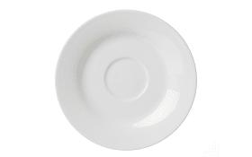 Untertasse Bianco in weiß, 15 cm