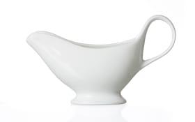 Sauciere Bianco in weiß, 0,25 l