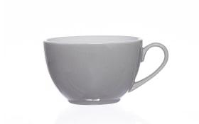 Kaffeetasse Doppio in grau, 200 ml