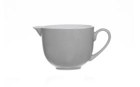 Milchkännchen Doppio in grau, 160 ml