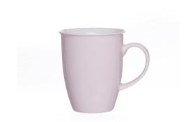 Kaffeebecher Doppio rose, 320 ml