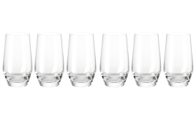 Longdrinkglas 365 ml Puccini, 6-teilig