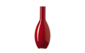Tischvase Beauty in rot, 18 cm