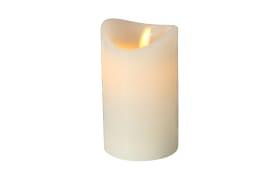 LED-Kerze Bino in creme, 12 cm