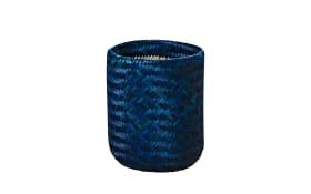 Korb Layne in blau, 41 cm