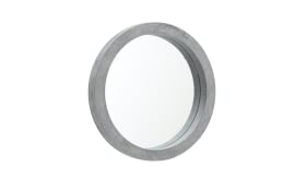 Spiegel Brest in grau, 25 cm