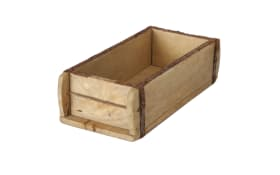 Holzbox Rygge in hellbraun, 15 x 10 x 32 cm