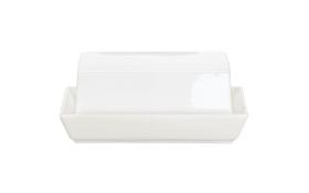 Butterdose à table, ca. 12,8 x 15,6 cm