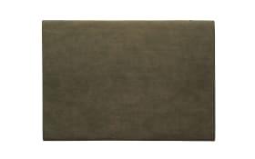 Tischset vegan Leder khaki, 46x33cm