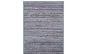 Bambusmatte Relax in grau-grün, 70 x 130 cm