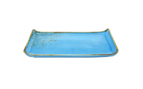 BBQ Platte Nature Collection in med blue, 33 x 16,5 cm