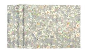 Mitteldecke Katalina in silber, 100 x 100 cm