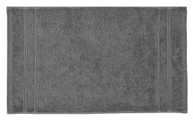 Handtuch Karat in anthrazit, 50 x 100 cm