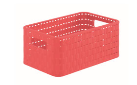 Korb Country in coral pink, 6 l