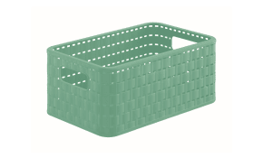 Korb Country in lagoon green, 6 l