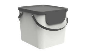 Recycling Müllsystem Albula in mistletoe white, 40 L