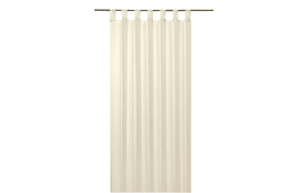 Schlaufenschal Sambia Light in creme, 140 x 245 cm