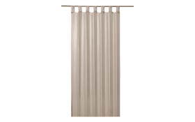 Schlaufenschal Sambia Light in taupe, 140 x 245 cm