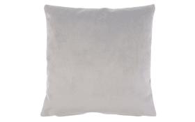 Kissenhülle Duval in silber, 50 x 50 cm