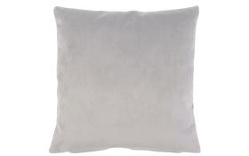 Kissenhülle in silber, 60 x 60 cm