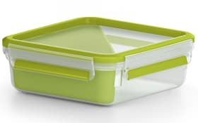 Sandwichbox Clip & Go in hellgrün, 0,85 l