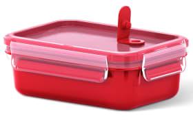 Frischhaltedose Clip & Micro in rot, 0,55 l