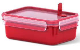 Frischhaltedose Clip & Micro in rot, 0,80 l