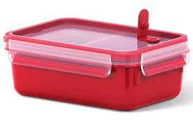 Frischhaltedose Clip & Micro in rot, 1,0 l