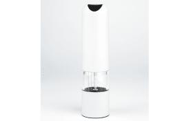 Pfeffer-/Salzmühle in weiß, 21 cm