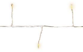 LED-Light Bündel in silber/warmweiß, 190 cm