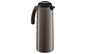 Isolierkanne in grau, 1 Liter