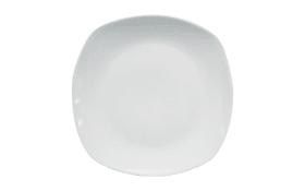 Speiseteller in weiß, 24,5 cm
