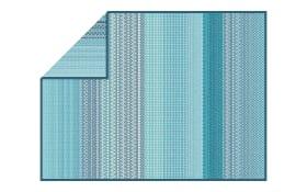 Wohn- und Schlafdecke Dumai in türkis, 150 x 200 cm