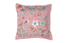 Kissen Spring to Life Petit in pink, 45 x 45 cm