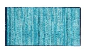 Handtuch Mivu in blau, 70 x 140 cm