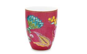 Drinking Mug Jambo Flower in pink, 300 ml
