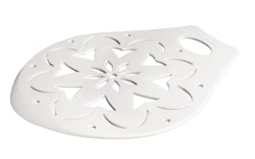 Kuchenheber-/Dekorschablone Patisserie in weiß