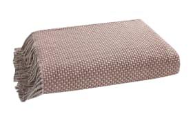 Plaid in rosa, 150 x 200 cm
