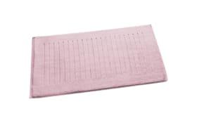 Badematte in rose, 50 x 80 cm