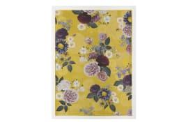 Decke in gelb, 150 x 200 cm
