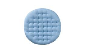 Sitzkissen Bobby in graublau, 40 cm