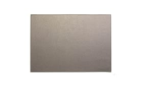 Platzmatte in grau, 33 x 46 cm