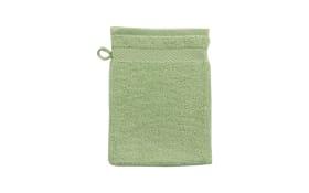 Waschhandschuh Casa Nova in grün, 16 x 21 cm