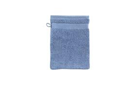 Waschhandschuh Casa Nova in blau, 16 x 21 cm