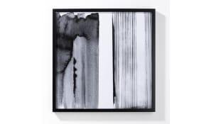 Bild in Schwarz weiß II, ca. 62,80 cm