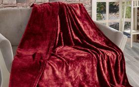 Wohndecke Meghan in rot, 150 x 200 cm