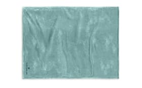 Fleece-Decke Tom Tailor in türkis, 150 x 200 cm